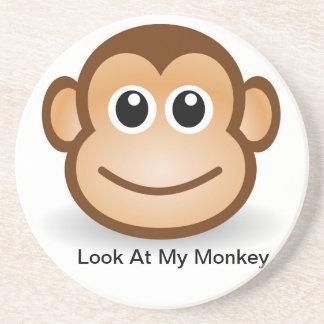 mis prácticos de costa del mono posavasos cerveza