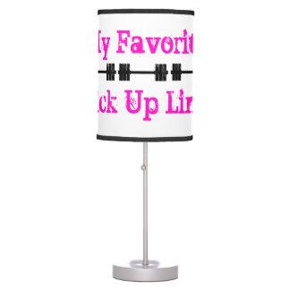 Mis preferidos cogen la línea lámpara de escritorio