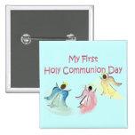 Mis primeros regalos del día de la comunión santa pin