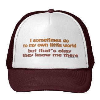 Mis propios pequeños gorras del mundo