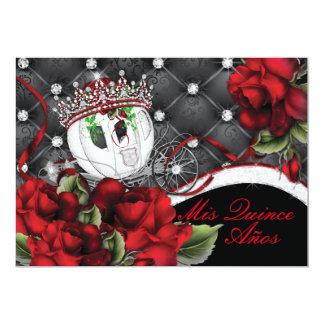 Mis Quince Anos and Sweet 16s Card