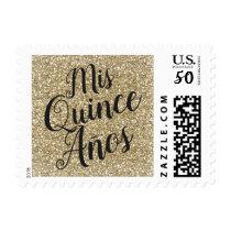 Mis Quince Años Quinceañera Invitation Stamp
