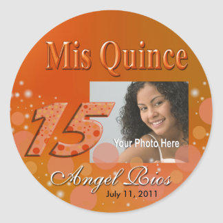 Mis Quince I Photo Party Sticker