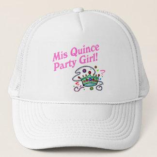 Mis Quince Party Girl Trucker Hat