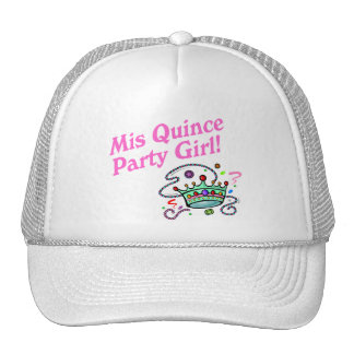 Mis Quince Party Girl Trucker Hat