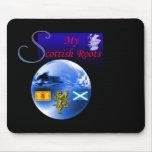 Mis raíces del escocés tapetes de ratones