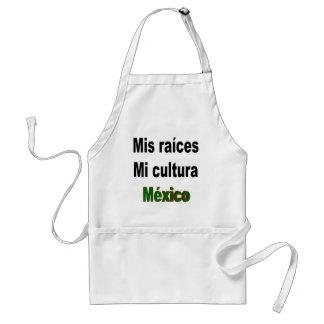 Mis Raices Mi Cultura Mexico Adult Apron
