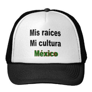 Mis Raices MI Cultura México Gorro De Camionero