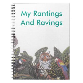 Mis Rantings y cuaderno de los Ravings