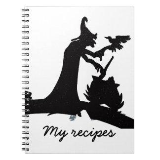 Mis recetas libros de apuntes