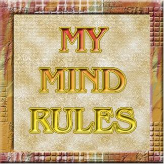 Mis reglas de la mente esculturas fotográficas
