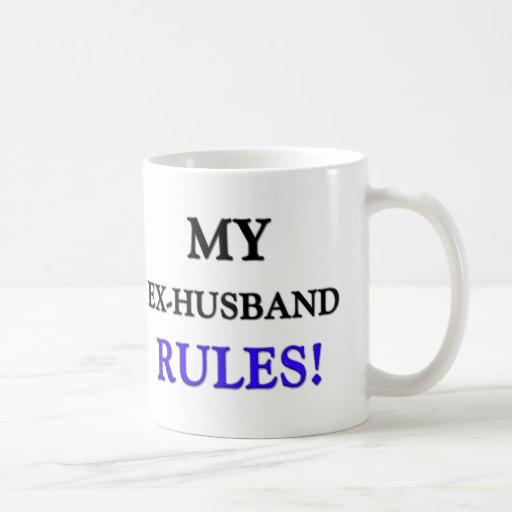 Mis reglas del exmarido tazas