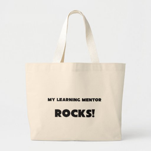 ¡MIS ROCAS de aprendizaje del mentor! Bolsas De Mano