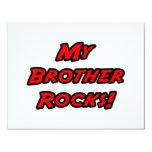 Mis rocas de Brother Invitación 10,8 X 13,9 Cm