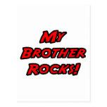 Mis rocas de Brother Tarjetas Postales