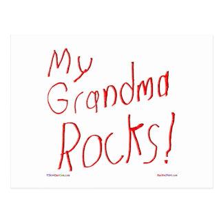 ¡Mis rocas de la abuela! Postal