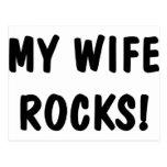 Mis rocas de la esposa postales