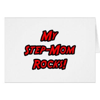 Mis rocas de la madrastra felicitación