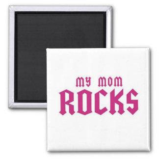 Mis rocas de la mamá imán de frigorifico