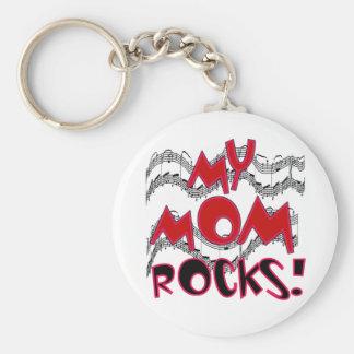 Mis rocas de la mamá llavero redondo tipo pin