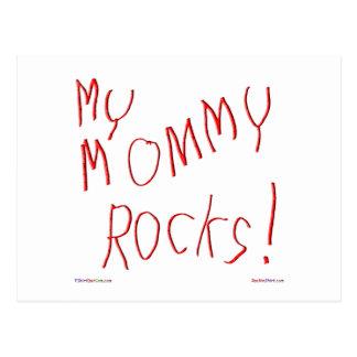¡Mis rocas de la mamá! Postal
