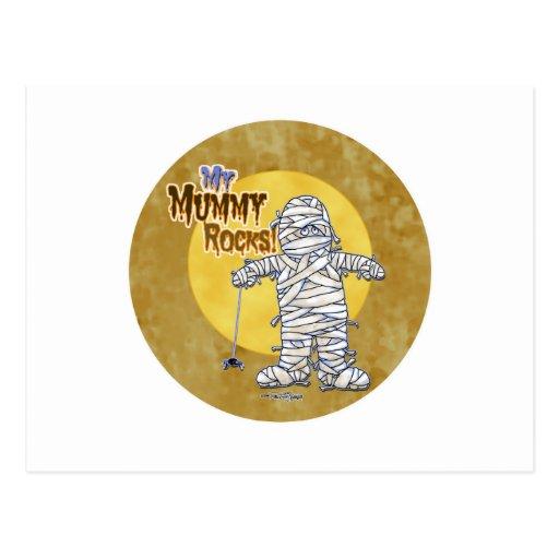 Mis rocas de la momia tarjetas postales