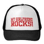Mis rocas de la novia gorras de camionero