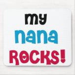Mis rocas de Nana Alfombrillas De Ratones