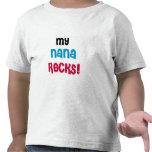 Mis rocas de Nana Camisetas