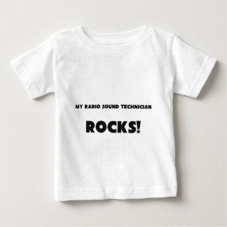 ¡MIS ROCAS de radio del técnico sano! T Shirt