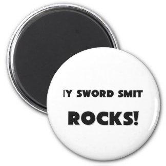 ¡MIS ROCAS de Smith de la espada! Imanes De Nevera