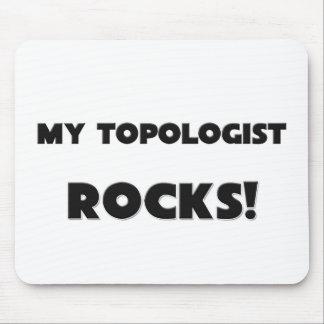 ¡MIS ROCAS de Topologist! Tapete De Raton