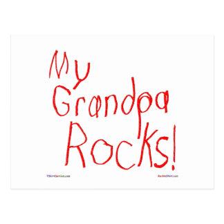 ¡Mis rocas del abuelo! Postal
