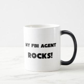 ¡MIS ROCAS del agente del FBI! Tazas De Café
