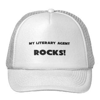 ¡MIS ROCAS del agente literario! Gorros Bordados