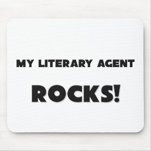 ¡MIS ROCAS del agente literario! Tapete De Ratones
