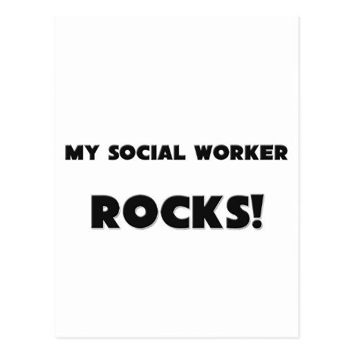 ¡MIS ROCAS del asistente social! Tarjetas Postales