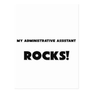 ¡MIS ROCAS del ayudante administrativo! Tarjeta Postal