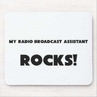 ¡MIS ROCAS del ayudante de la emisión de radio! Tapetes De Ratones