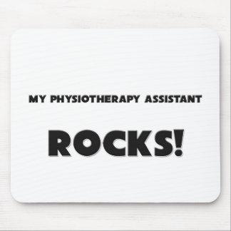 ¡MIS ROCAS del ayudante de la fisioterapia! Alfombrillas De Ratones