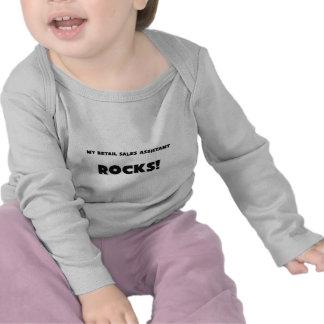 ¡MIS ROCAS del ayudante de las ventas al por Camisetas