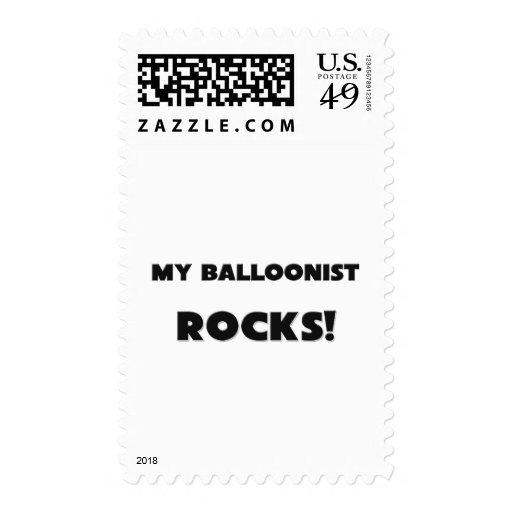 ¡MIS ROCAS del Balloonist! Sellos Postales