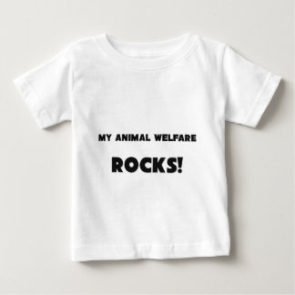 ¡MIS ROCAS del bienestar animal! Playeras