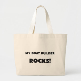 ¡MIS ROCAS del constructor del barco! Bolsa Tela Grande