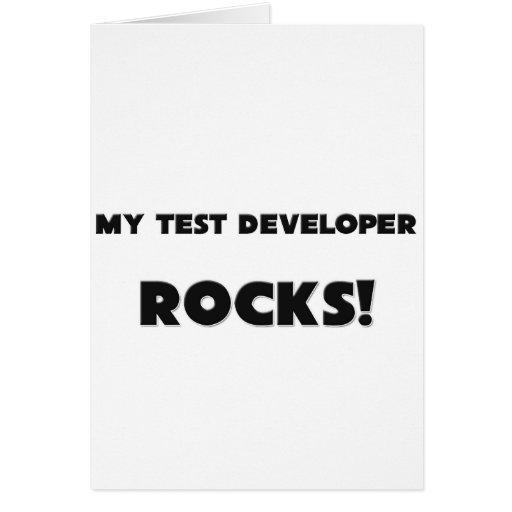 ¡MIS ROCAS del desarrollador de la prueba! Tarjetas