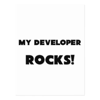 ¡MIS ROCAS del desarrollador! Tarjeta Postal