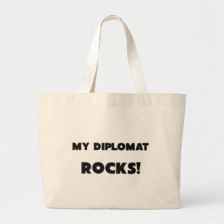 ¡MIS ROCAS del diplomático! Bolsa Tela Grande