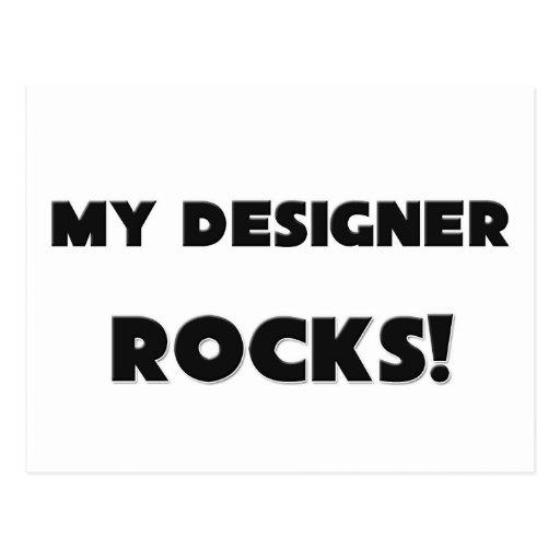 ¡MIS ROCAS del diseñador! Postal