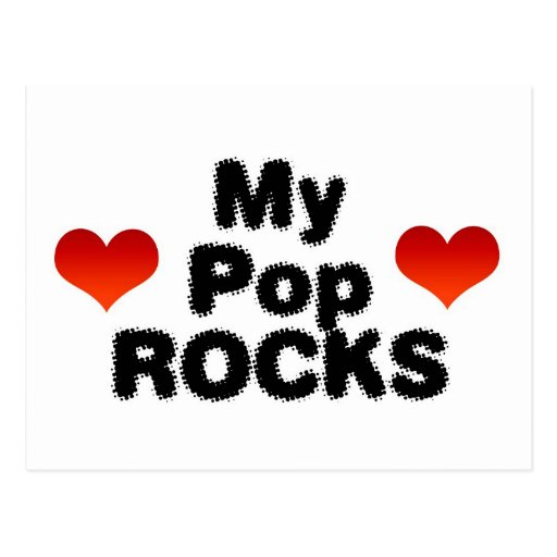 Mis rocas del estallido postal