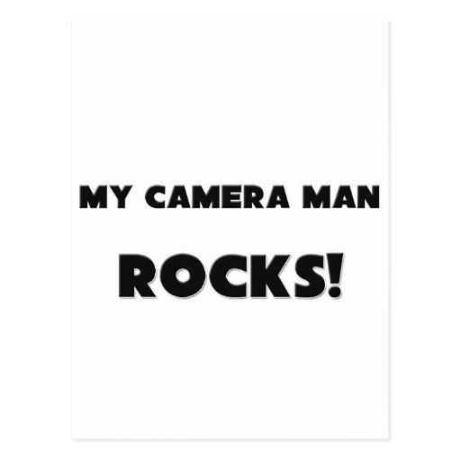 ¡MIS ROCAS del hombre de la cámara! Tarjetas Postales